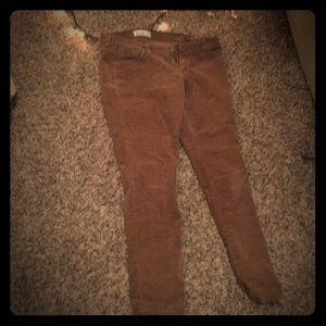 Old navy corduroy skinny pants